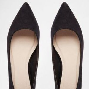 ASOS LOST Pointed Ballet Flats (NWT)